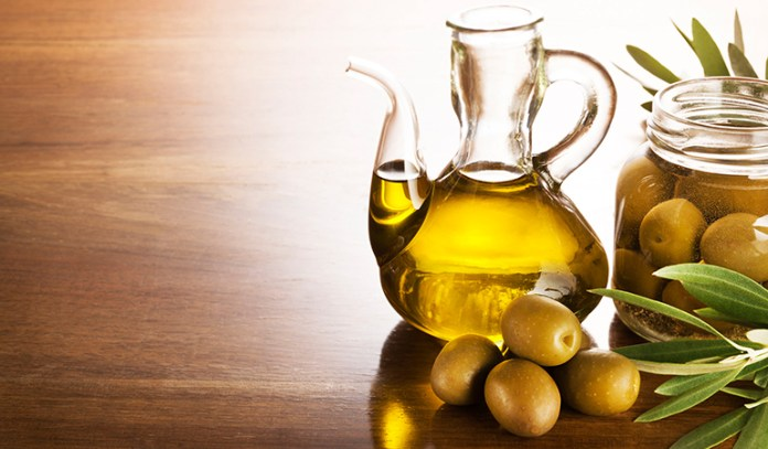 Olive oil contains omega-3 fatty acids that are great for the hair
