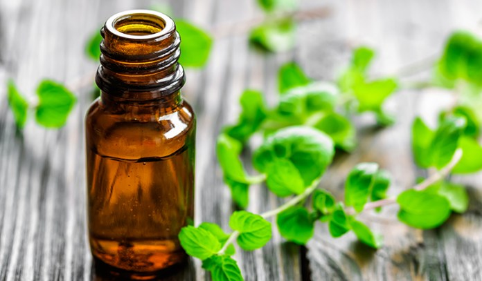 Peppermint oil helps soothe muscle spasms in the intestines and also cures nausea.