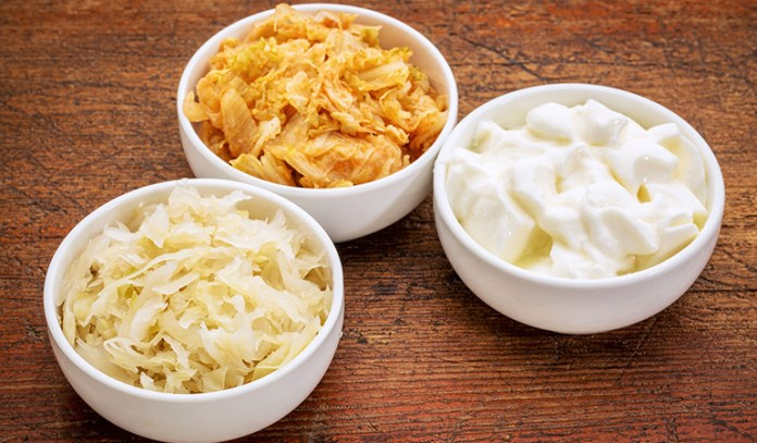 Probiotics help replenish the gut with good bacteria