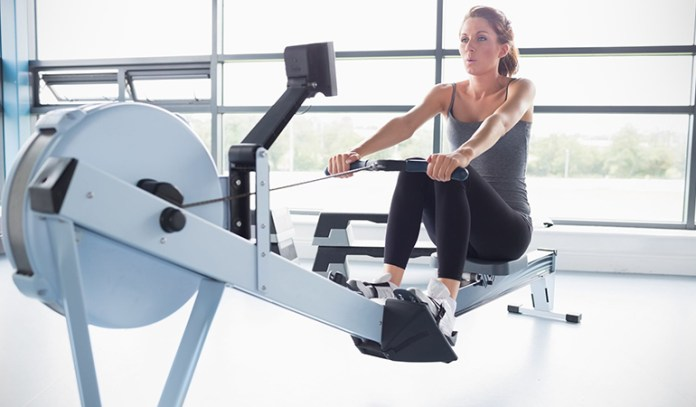 Rigorous rowing could burn up to 377 calories per hour