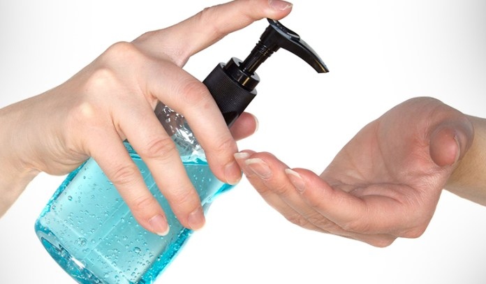 Mouthwash can be used as a hand sanitizer.