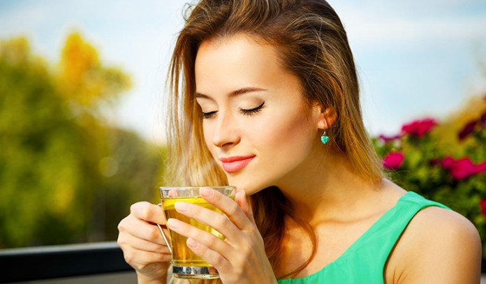 L-theanine in green tea eases stress and anxiety