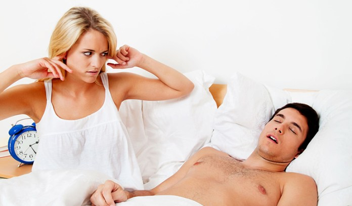 Snoring is a sign of sleep apnea, which can increase the risk of ED