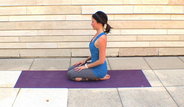 Vajrasana boosts the immune system and prevents issues like cold