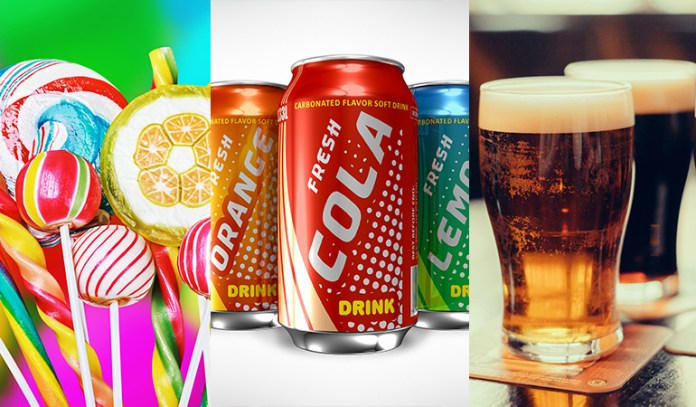 Sugary foods, sodas and soft drinks that are acidic in nature, and drinking too much alcohol is bad for your oral health.
