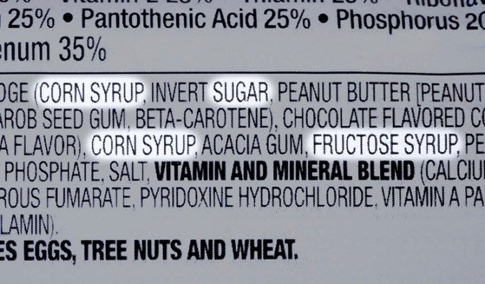 Avoid foods that contain added sugars