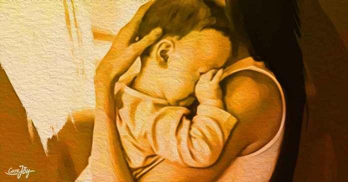 why do babies rub their eyes