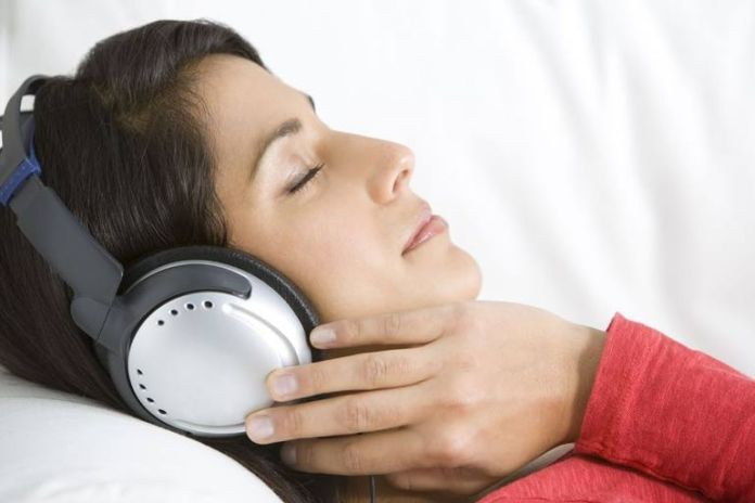 Relaxing music can get rid of the ringing sound