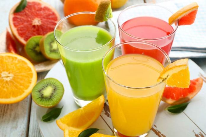 Juices made without the skin of the fruits lack useful nutrients