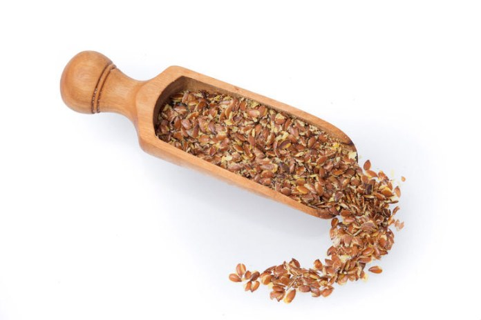 Omega-3 fatty acids can be acquired with flaxseeds