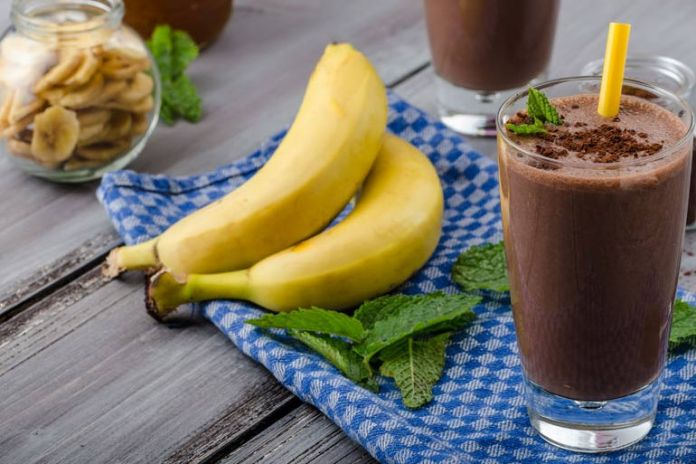 Chocolate mint smoothie for weight loss