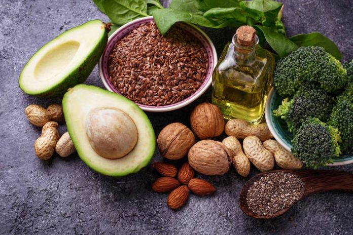 Nuts and seeds such as almonds and flaxseeds reduce bad cholesterol