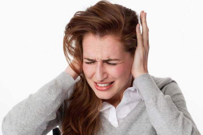 The ringing ear pain can cause a loss of hearing
