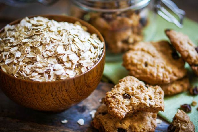Oatmeal and whole grains offer a lot of fiber