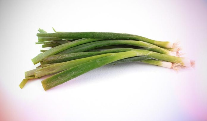 Scallions can help you beat a cold