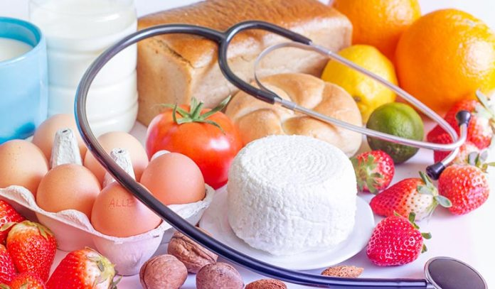 The most common foods that can trigger a reaction are cow's milk, peanuts, soy, eggs, wheat, shellfish, tree nuts, citrus fruits, and fish)