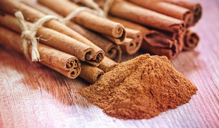 Cinnamon serves to trigger the production of collagen which is essential for wrinkle-free skin