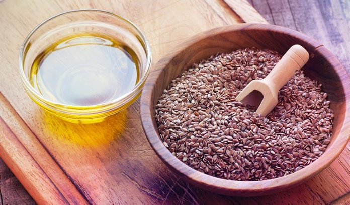 Flaxseeds are high in omega-3 fatty acids which protect your heart health