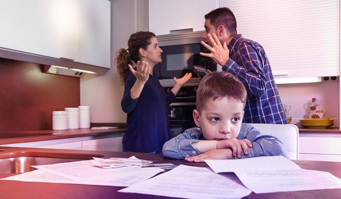 Any Issue With Your Co-parent Should Be Sorted Out Professionally