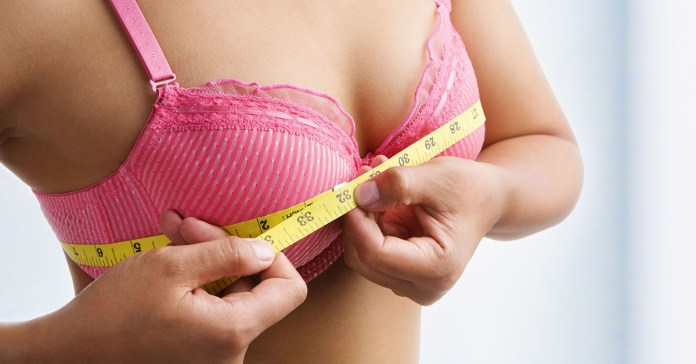 exercises for breast enlargement.