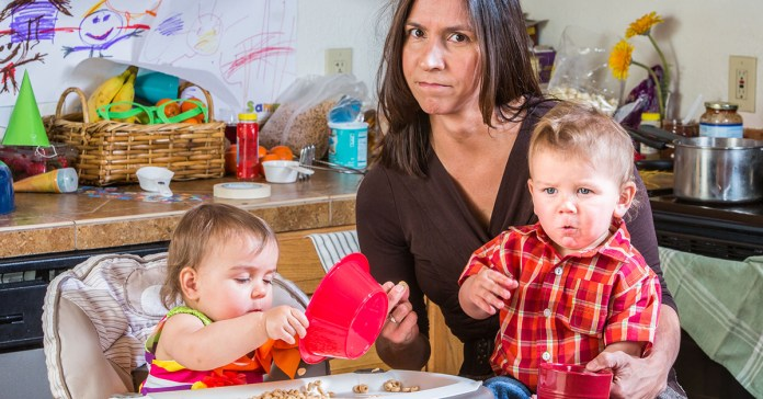 Stress can affect stay-at-home moms as well