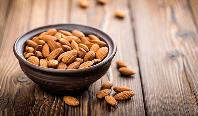 Almonds are an excellent source of energy and protein