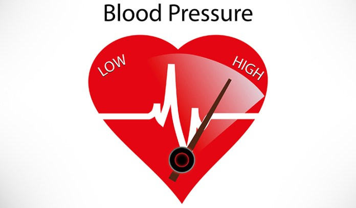 High blood pressure causes heart and brain disorders.