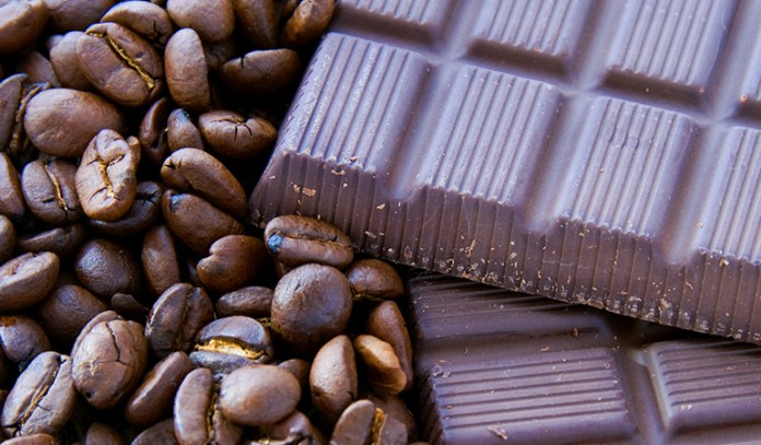 Caffeine and chocolate cause the lower esophageal sphincter to relax