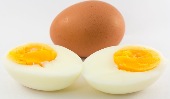 Eggs contain a lot of protein and have anti-inflammatory properties