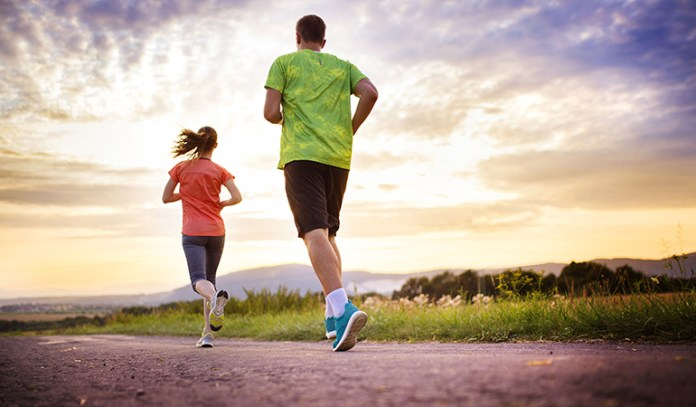 Exercising helps flush out the toxins from the body through sweat