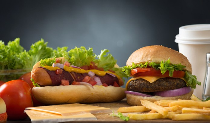 Eating fast food is known to increase the chances of developing allergies