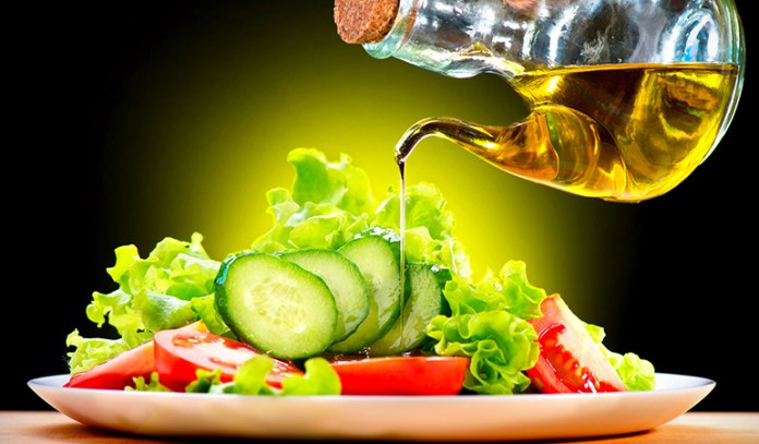 Stay away from mayonnaise and thousand island dressing, to saving yourself a ton of calories.