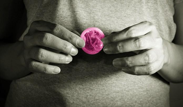 Female Condoms Are Inserted Into The Vagina
