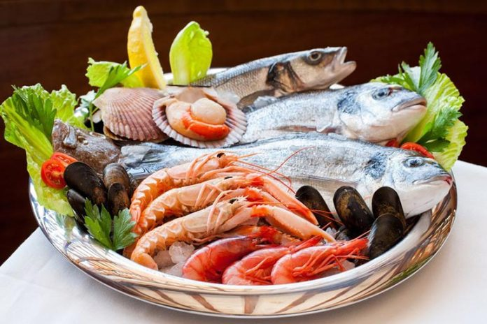 Seafood is rich in omega 3 fatty acids, which decreases inflammation.