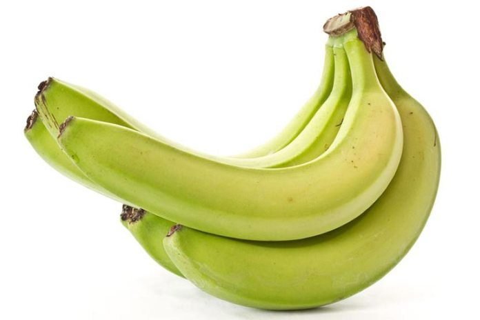Unripe bananas have complex starch in them which is bad for the gut