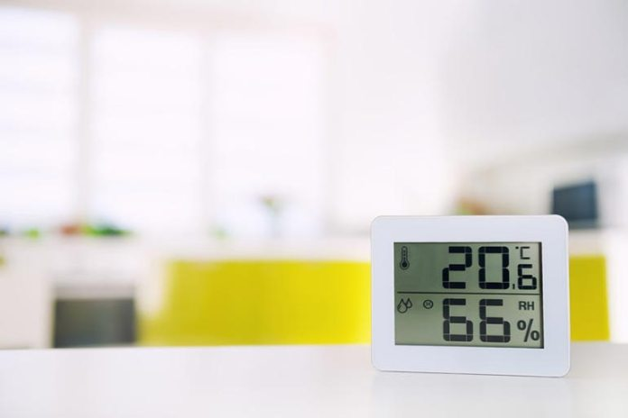 Extreme levels of humidity can cause poor air quality.