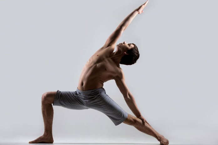 A different form of a lunge