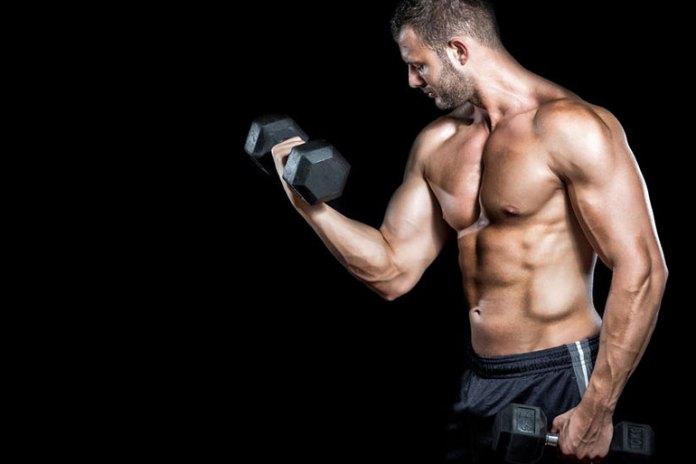 Stimulates the biceps