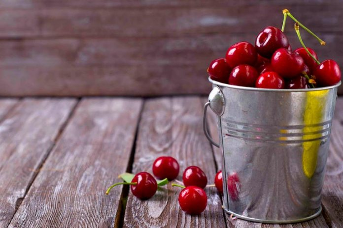 Cherries are often overripe and contain high levels of fructose