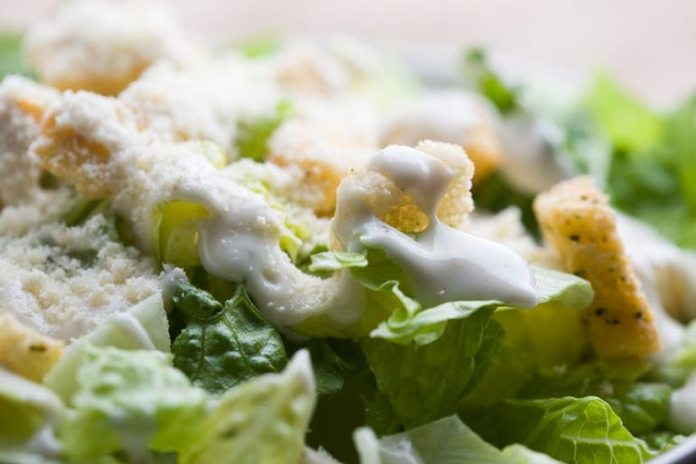 Salads can be ruined in a second by adding creamy dressings