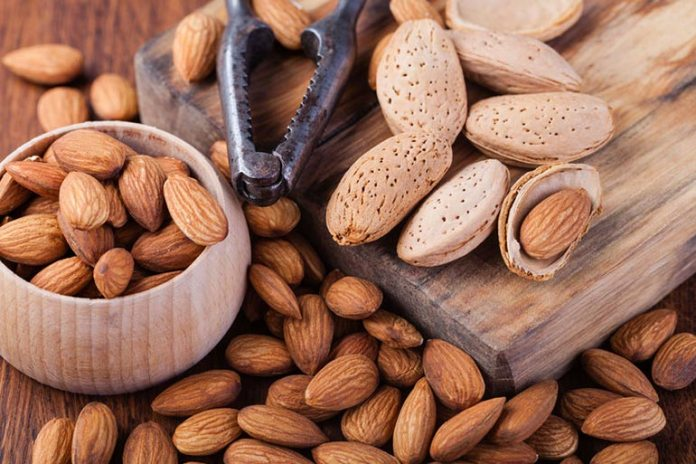 Almonds are packed with nutrients including calcium