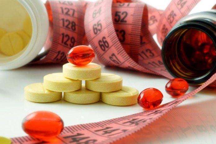 Supplements don't help you lose weight instantly.