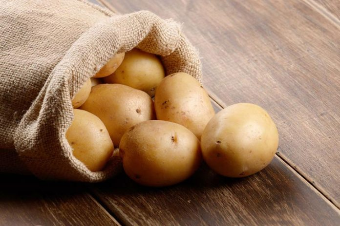 Potatoes are often consumed salted, fried and with their skin peeled off