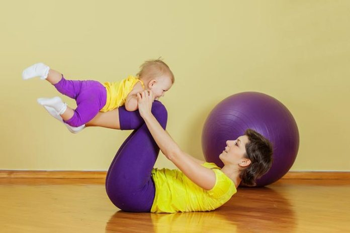 Simple exercises will help you get back in shape post delivery