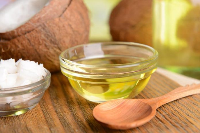 coconut oil to heal wounds