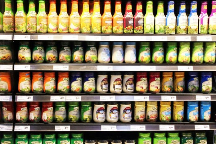 Most salad dressings are high in calories, fat, sodium, and sugar.