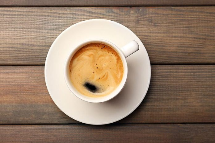 Caffeine in coffee dehydrated the body cause problems in the loo
