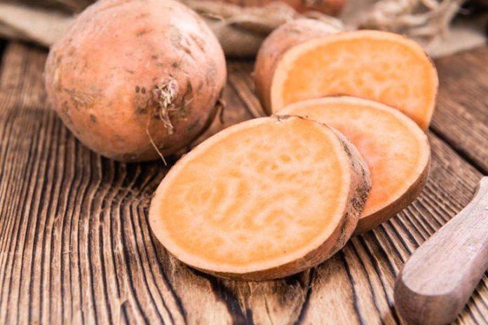 Sweet potato contains vitamin E, which reduces PMS symptoms.