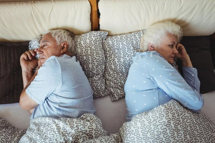 Sleeplessness or light sleep is a common and completely natural part of the aging process.