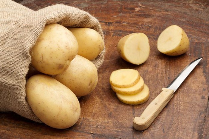 Potato contains vitamins and minerals.